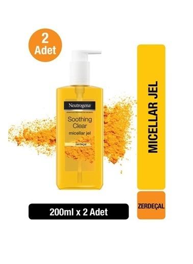 Neutrogena Soothing Clear Micellar Jel 200 Ml X2 Renksiz